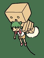 Yotsuba & ! sticker #5829