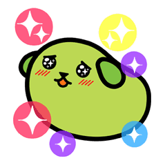 Mameshiba sticker #5838