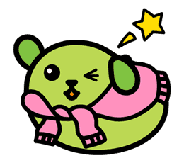 Mameshiba sticker #5839