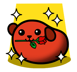 Mameshiba sticker #5843