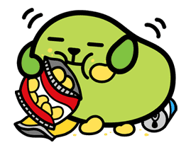 Mameshiba sticker #5848
