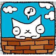 สติ๊กเกอร์ไลน์ แมวหิมะ