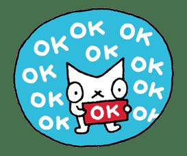 SNOWCAT sticker #6090