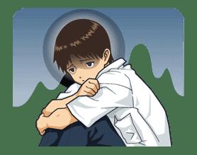 EVANGELION Vol.2 sticker #7514