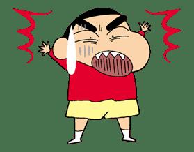 Crayon Shinchan sticker #8521