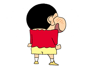 Crayon Shinchan sticker #8523
