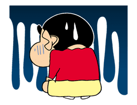 Crayon Shinchan sticker #8528