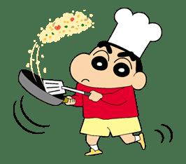Crayon Shinchan sticker #8529