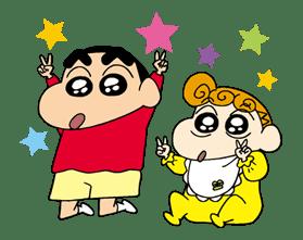 Crayon Shinchan sticker #8537