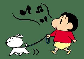 Crayon Shinchan sticker #8540
