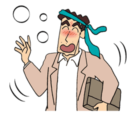 Crayon Shinchan sticker #8541