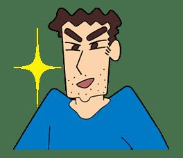 Crayon Shinchan sticker #8542