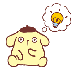 Pompompurin sticker #9754
