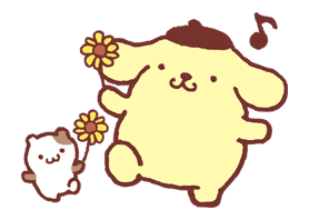 Pompompurin sticker #9760