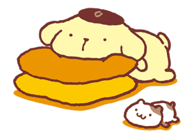 Pompompurin sticker #9773