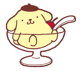 Pompompurin sticker #9780