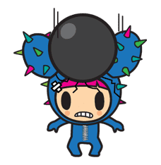 tokidoki sticker #10695