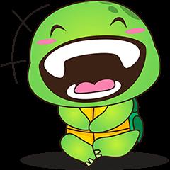 Pura, kura kura yg konyol dan keren 4 - Stiker Kreator