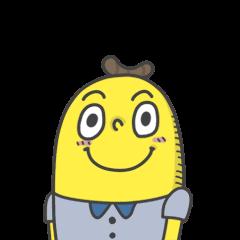 สติ๊กเกอร์ไลน์ Mr. Banana: Cute Version