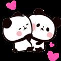 MOCHI MOCHI PANDA Moving Stickers