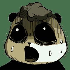 Scary Panda Kibo