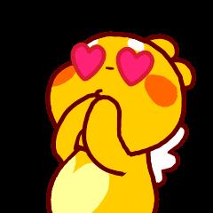 "QooBee Agapi ""LOVE"" Animated"