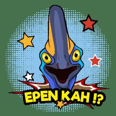 The Kaslopa - Papuan Slang Cassowary