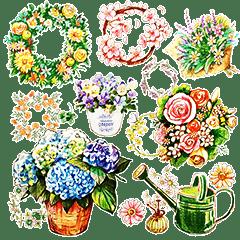 words flower shop