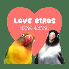 LOVEBIRDS STICKERS