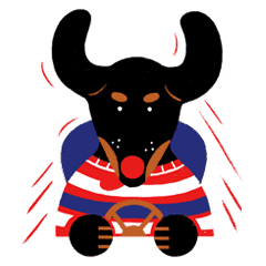 Red Nose Dog