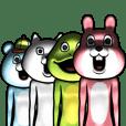 目が笑ってない着ぐるみたち 5 | LINE STORE