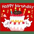 動くカードで伝える☆ 誕生日&季節の挨拶 - クリエイターズスタンプ