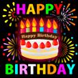 誕生日おめでとう♪ | LINE STORE