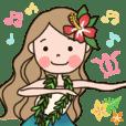 フラガールの毎日フラダンス★ | LINE STORE