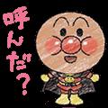かわいい!ぷちアンパンマンクレヨンタッチ   LINE STORE