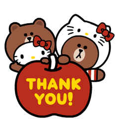 LINE FRIENDS & HELLO KITTY | StampDB - LINEスタンプランキング